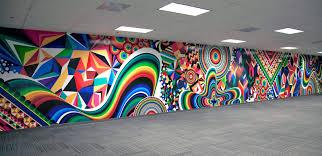 Pop Art Design Ideas Mwm News Blog Super Sized Pop Art Op Art Mural Painting