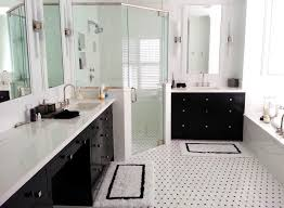 corner shower stalls Bathroom Modern with bathroom tile flooring