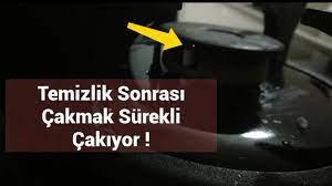 Ankastre Ocak Çakmağı, Takılı Kaldı Sürekli Çakıyor - YouTube