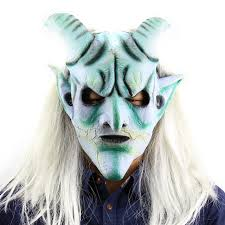 Mask Decorating Supplies New Halloween Latex Mask Scary Masks Halloween Mascaras De Latex 26