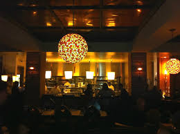 restaurant hospitality interior lighting of bistro aix jacksonville