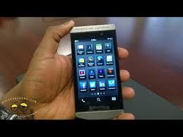 BlackBerry Porsche Design P9982 Hands ...