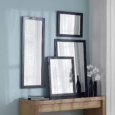 Asda Floating Shelves Classy ASDA Black Mirror 32x32cm Mirrors Wall Art George At ASDA