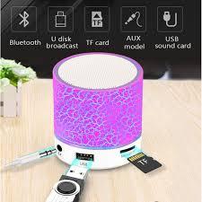 (COD)Colorful Bluetooth Speaker <b>Led Portable Mini Wireless</b> ...