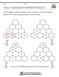 Math Worksheets Free Logiczzles Fun Printable Logic Puzzles Pdf ...
