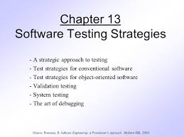 Chapter 13 Software Testing Strategies Ppt Download