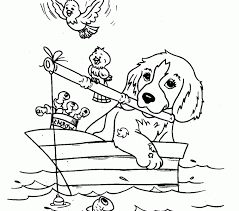 Small Picture printable animal coloring pages cute dogs coloring pages to print