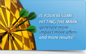Is Your Resume Hitting The Mark - Resume Writing, Interview Coaching and Resume  Distribution Services