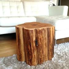 tree trunk table with glass top excellent diy wood stump glass table with tree stump base