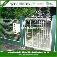metal garden border fencing mesmerizing decorative wire fence ideas and ga metal garden fence