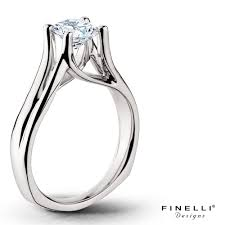 Finelli Designs Jewelry Finelli Engagement Ring With Negative Space Imgur