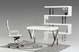 white modern office desk. Contemporary White Computer Desk Modern Office F