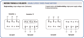 connection diagrams cme srl 2 speed 2 direction 3 phase motor wiring diagram connection diagrams of three phase and single phase motors i \