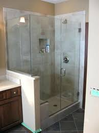 semi frameless shower semi frameless shower door cost