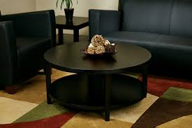 round black coffee table for unique look chocoaddicts com glass 36 living