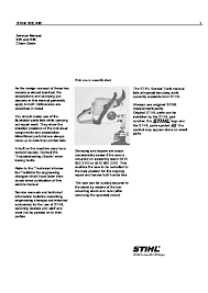 Stihl Chain Saw Service Manual Models 029 And 039
