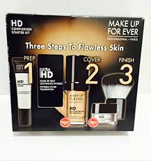 amazon make up for ever hd plexion starter kit 127 dark sand 1 kit makeup sets beauty