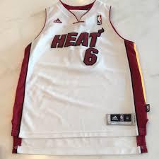 Miami Heat Chart Adidas Lebron James Miami Heat Boys Jersey