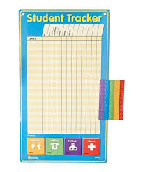 Student Tracking Chart Learning Resources Student Tracker Chart