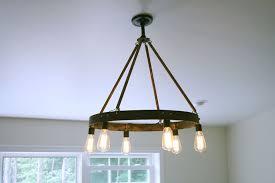 vintage edison light bulb chandelier lighting