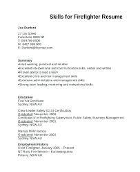 Firefighter Resume Entry Level Firefighter Resume Entry Level ...
