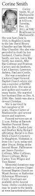 Cons Corine Chandler Smith Obituary - Newspapers.com