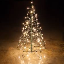 outdoor lighted trees ideas