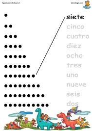 Worksheets with Numbers In Spanish | Homeshealth.info