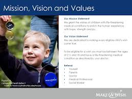 Make A Wish Mission Statement Creating A Partnership With The Make A Wish Foundation Of