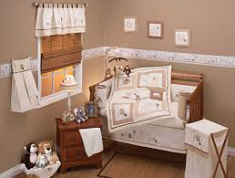 neutral baby bedding sets features cream deer organic baby crib bedding set including cream white