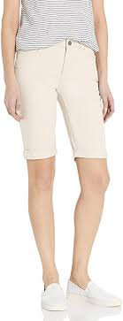 Jones New York Women's Mid Rise Lexington Bermuda Short at Amazon ...