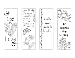 All of my printable bible verses and other printables are free. Free Christian Bookmarks To Print And Color Leap Of Faith Crafting