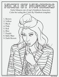 Small Picture 20 Free Printable Nicki Minaj Coloring Pages EverFreeColoringcom