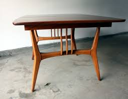 mid century modern dining table. Please Contact Us For More Information. Tagged 1960s Dining Set, Mid Century Modern Table A
