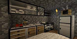 how to make a kitchen in minecraft. How To Make Small Kitchen In Minecraft Pe Modern Ideas Singular A N