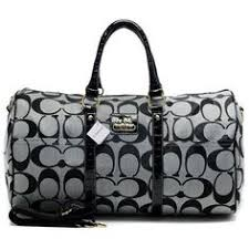 Coach Bleecker Monogram In Signature Large Grey Luggage Bags AFM Outlet  Online