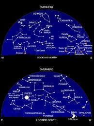 Star Chart Without Constellations Stargazing In October Watching Greek Myth Play Out In The