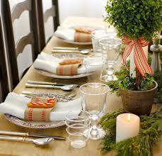 Setting A Dinner Table Informal Dinner Table Setting