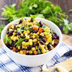black bean   fresh corn salsa