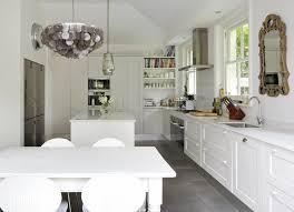 Farm Kitchen Design Mesmerizing Gray Capiz Chandelie R Eclectic Kitchen 48st Option