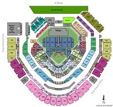 Petco Park Tickets And Petco Park Seating Chart Buy Petco