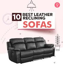 the 10 best leather reclining sofa reviews