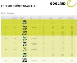 Edelrid Harness Size Chart Edelrid Jayne Ii Womens Climbing Harness