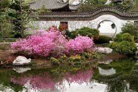 Small Picture Elements of the Chinese Garden Space for life