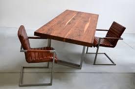 Tischfabrik24 8cm U Frame Esstisch Nussbaum Mit Stahl Gestell