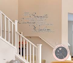 chandelier wall stickers inspirational serenity prayer wall decal wall mural e wall stickers living