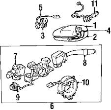 parts com® lexus gs300 steering column oem parts 2001 lexus gs300 base l6 3 0 liter gas steering column