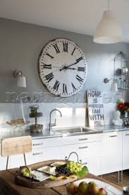 rs191 21 large vintage clock above sink in berkshire narratives