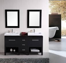 Modern Bathroom Vanities Cheap Cool New York 48 Double Sink Vanity Set In Espresso Design Element