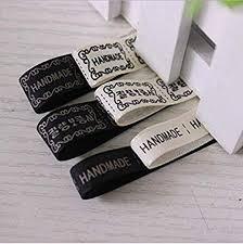 Diy Clothing Label Amazon Com Lysee Boutique Handmade Ribbon Manual Diy